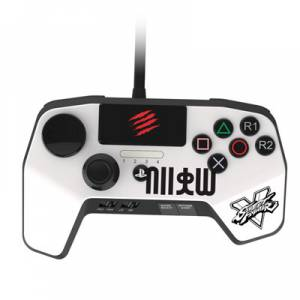 Street Fighter V Arcade Fight Pad Pro / White [PS4/PS3]