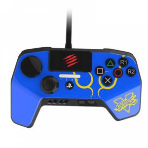 Street Fighter V Arcade Fight Pad Pro / Blue [PS4/PS3]