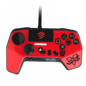 Street Fighter V Arcade Fight Pad Pro / Red [PS4/PS3]