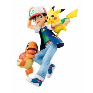 Pokemon - Ash & Pikachu & Charmander [G.E.M.]