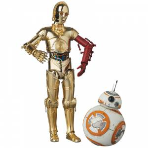 Star Wars: The Force Awakens - C-3PO & BB-8 [MAFEX]