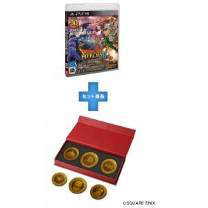 Dragon Quest Heroes II - Dragon Quest 30th Anniversary Monster Coin Set Square Enix Store Limited Edition [PS3]
