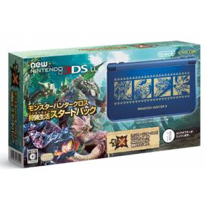 New Nintendo 3DS LL (XL) - Monster Hunter X / Cross Starter Pack [New 3DS Brand New]