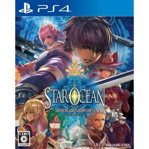 FREE SHIPPING - Star Ocean 5 Integrity and Faithlessness - standard edition [PS4]