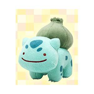 Pokemon - Bulbasaur Ditto / Metamon Themed Limited Edition [Plush Toys]