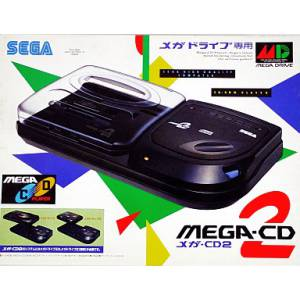 Mega CD 2 complete in box [Used Good Condition]