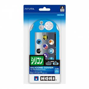 New silicon cover Aqua Blue for PlayStation Vita (PCH-2000 series) [Hori]