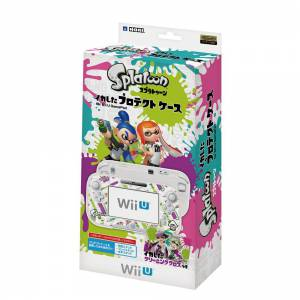 Protect case for Wii U Gamepad - Splatoon Ver.