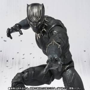 Captain America: Civil War - BLACK PANTHER - Limited Edition [SH Figuarts]