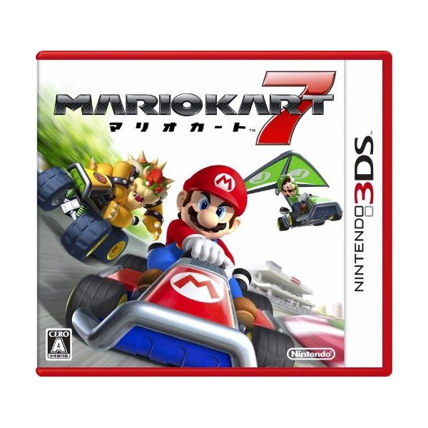buy mario kart 7 3ds japanese import nin nin. Black Bedroom Furniture Sets. Home Design Ideas