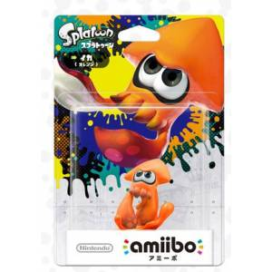 Amiibo Ika / Squid Color Variation (Orange Ver.) - Splatoon series Ver. [Wii U]