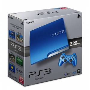 PlayStation 3 Slim 320GB Splash Blue [neuve]
