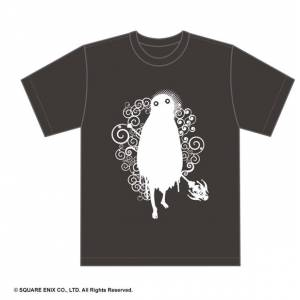 Nier - Charcoal Emile ver. Official T-Shirt Limited Edition [Goods]