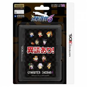 Ace Attorney / Gyakuten Saiban 6 Special Card Case ( up to 12 Games) [Hori / 3DS]