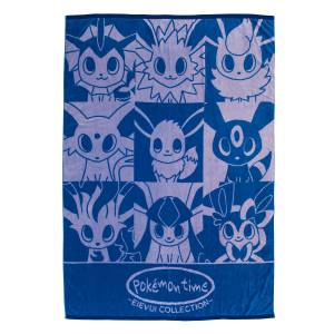 Cotton Blanket Pokemon Time EIEVUI / Eevee COLLECTION Pokemon Center Limited Edition [Goods]