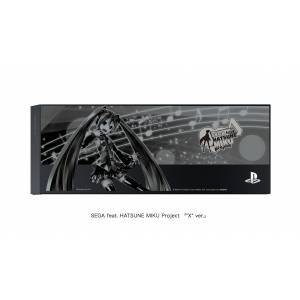 """FACEPLATE / HDD BAY COVER Jet Black - """"SEGA feat. HATSUNE MIKU Project Limited Edition X Ver. [PS4 - Brand New]"""