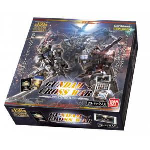 """""""Gundam"""" Series - GUNDAM CROSS WAR Booster Pack [GCW-B001] 20 Pack BOX [Trading Cards]"""