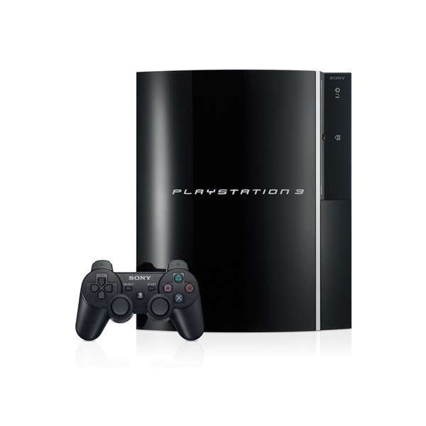 playstation 3 80gb clear black neuve nin nin game com. Black Bedroom Furniture Sets. Home Design Ideas