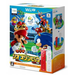 Mario & Sonic at the Rio 2016 Olympics Games - Wii Remote Plus set (red and white) [Wii U]