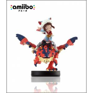 Amiibo One-Eyed Liolaeus & Rider (Female Ver.) - Monster Hunter Stories Series Ver. [Wii U]