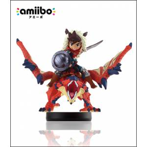 Amiibo One-Eyed Liolaeus & Rider (Male Ver.) - Monster Hunter Stories Series Ver. [Wii U]
