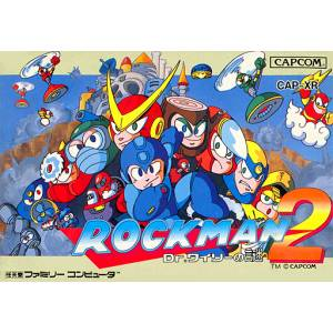 Rockman 2 - Dr. Wily no Nazo / Mega Man 2 [FC - Used Good Condition]