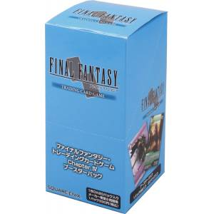 Final Fantasy TCG - Booster Chapter IV BOX [Trading Cards]