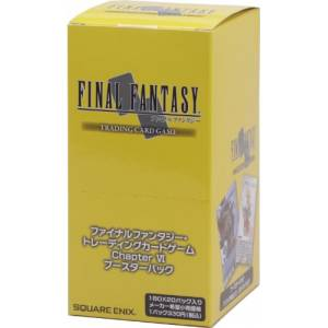Final Fantasy TCG - Booster Chapter VI BOX [Trading Cards]