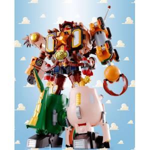 TOY STORY Chogattai Woody Robot Sheriff Star [Chogokin]