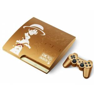 PlayStation 3 Slim 320GB One Piece Kaizoku Musou GOLD EDITION [new]