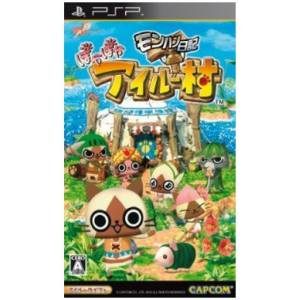 MonHun Nikki - Poka Poka Airu Mura / Monster Hunter Diaries - Airu Village [PSP - Used Good Condition]
