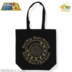 Saint Seiya 30th Anniversary Memorial Golden Cloth box (Gold Cross box) Tote Bag [Goods]
