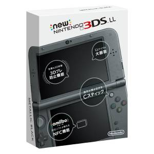 New Nintendo 3DS LL (XL) - Metallic Black [Used / No Box]
