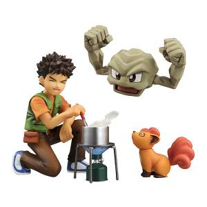 Pokemon - Brock / Takeshi - Geodude & Vulpix  [G.E.M.]
