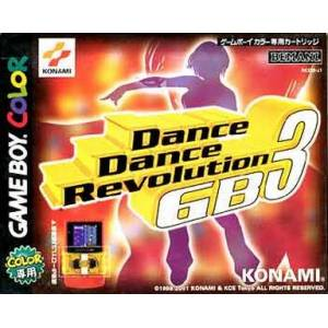 Dance Dance Revolution GB3 [GBC - Used]