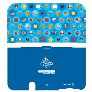 Cover Plates -  Super Mario (Blue) [New 3DSLL]