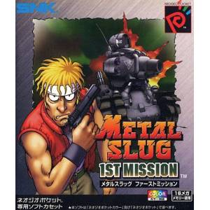 Metal Slug 1st Mission [NGPC - Used Good Condition]