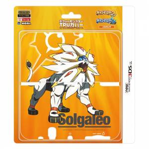 Cover Plates TPU - Pokemon Solgaleo Ver. [New 3DSLL]