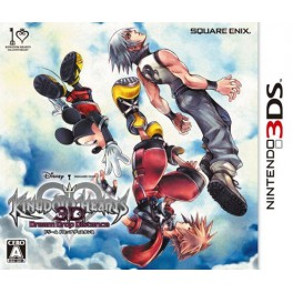 Kingdom Hearts 3D - Dream Drop Distance + AR Card [3DS]