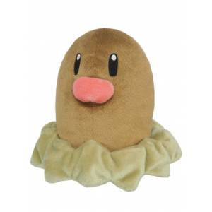 Pokemon - Diglett (PP36) [Plush Toys]