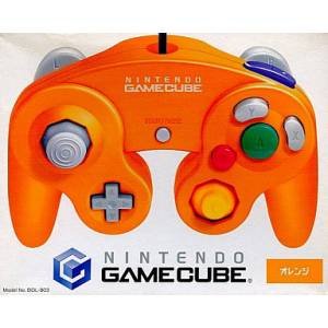 Game Cube Controller - Orange [NGC - used good condition]