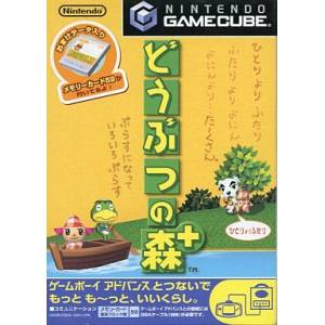 Doubutsu no Mori Plus / Animal Crossing [NGC - used good condition]