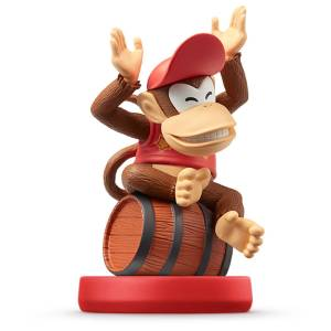 Amiibo Diddy Kong - Super Mario series Ver. [Wii U]