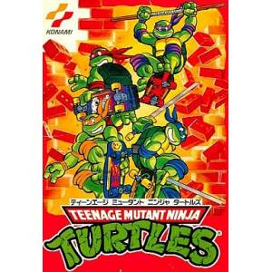 Teenage Mutant Ninja Turtles / TMNT 2 - The Arcade Game [FC - Used Good Condition]