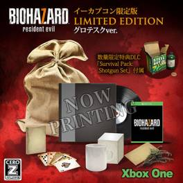 Resident Evil / Biohazard 7 Limited EDITION Cero: Z Version - e-Capcom Limited [Xbox One]