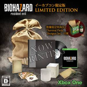 Resident Evil / Biohazard 7 Limited EDITION Cero: D Version - e-Capcom Limited [Xbox One]