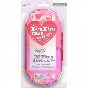 Kira Kira Case (Pink) (for Playstation Vita PCH-2000) [Cyber Gadget - Brand new]