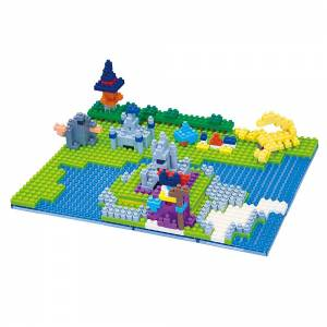 Dragon Quest - Castle of Radatomu [Nanoblock]