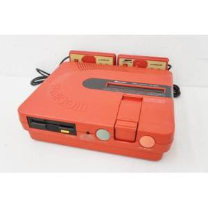 Twin Famicom rouge AN-500R [Occasion - sans boîte]