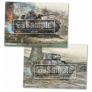 Valkyria Chronicles Remaster - A3 posters set of 2 [Ebten Limited]